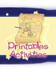 Toopy and Binoo Printable activities