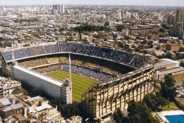 La Bombonera Alberto J. Armando. Buenos Aires. Club Atlético Boca Juniors. Argentina.