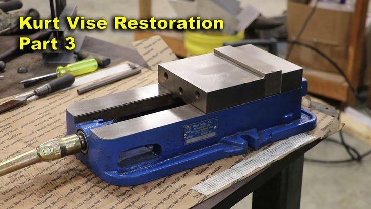Kurt Vise Restoration - Part 3: Final Grinding and Reassembly