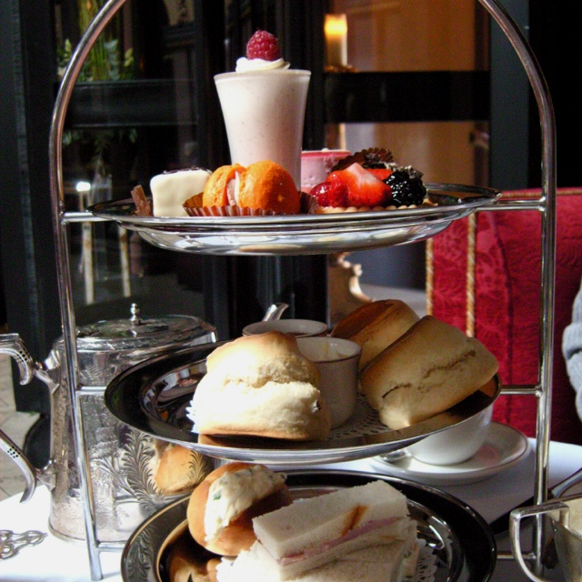 Afternoon tea at the Merchant Hotel Belfast