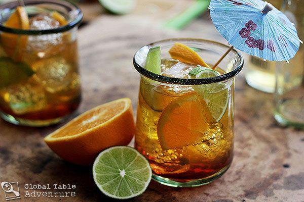 ... : Nigerian Chapman Cocktail -- Looks like a great summer drink