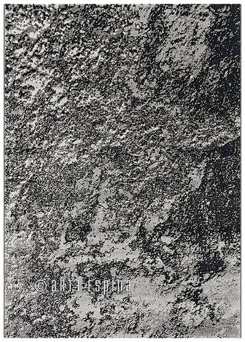 A dark colored rug