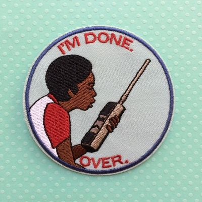 Lucas Stranger Things Embroidered Patch Iron On