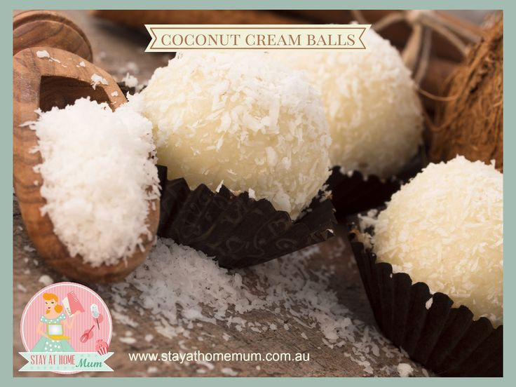 Coconut Cream Balls | Stay at Home Mum