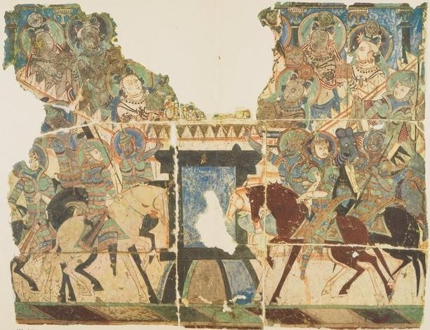 Eight Kings of the Relics Story, Tarim Basin, Central Asia