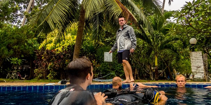Pool Sessions - Padi Instructor Training - Crystal Dive Koh Tao