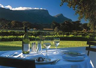 Constantia Uitsig Restaurant - South Africa. 4 Star ****Gourmet Food