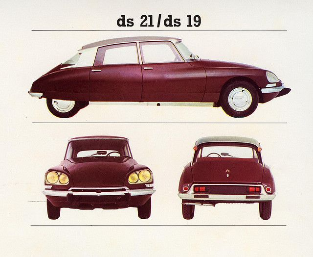 "1968 | Citroën DS 19 /21 | UK Catalogue ""dont get no bettah"""
