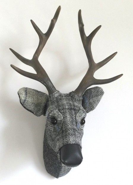 April Barrie, Dorian, Textile Taxidermy | Scottish Contemporary Art