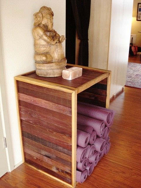 Yoga Mat Holder - 100% recycled and natural on Etsy, $350.00
