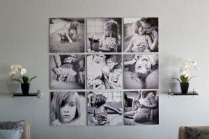 Some beautiful idea to display your photograph on the wall