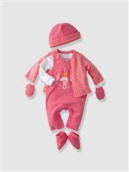 HAPPY PRICE 6-teiliges Babyset, Neugeborene