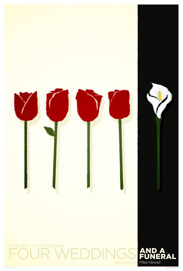 Minimalist Classroom Uk ~ Minimalist romantic movie posters day just for laughs