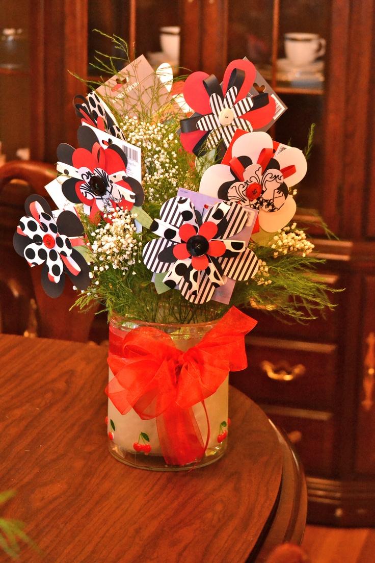 Teacher Appreciation T Card Bouquet Cut The Flowers
