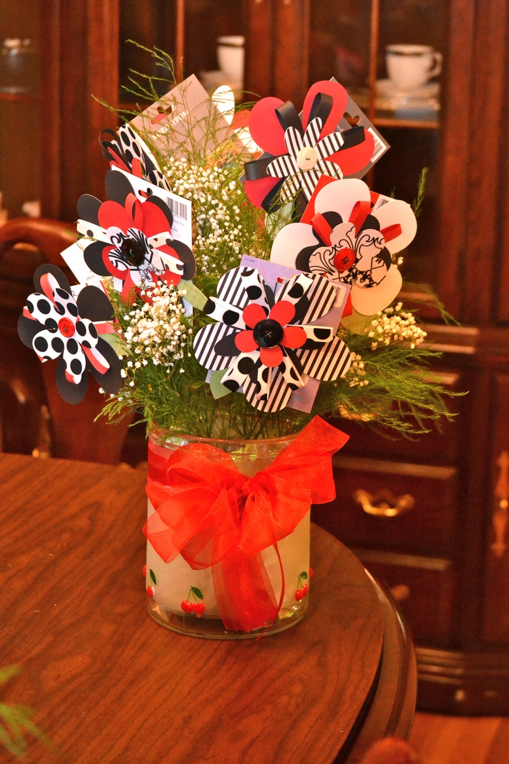 Teacher Appreciation Gift Card Bouquet Cut The Flowers