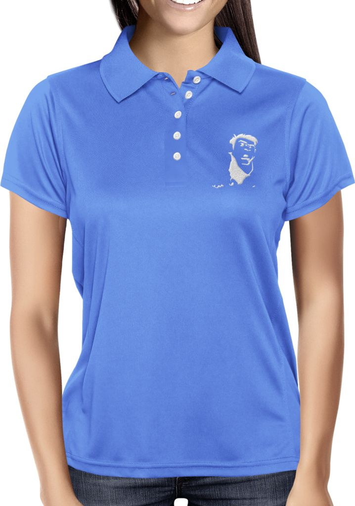 Royal Blue Blank - Dhaporshankh Girls Polos