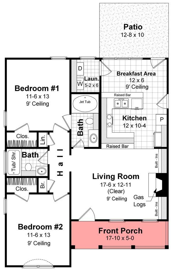 1 cool bow house plans for Bow house plans