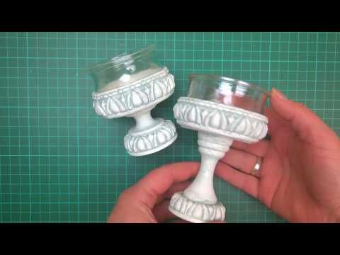 Lampionik z odlewami - YouTube