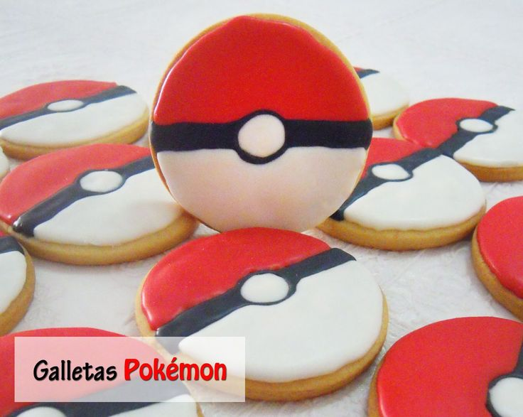 Galletas Decoradas: Galletas de Pokémon