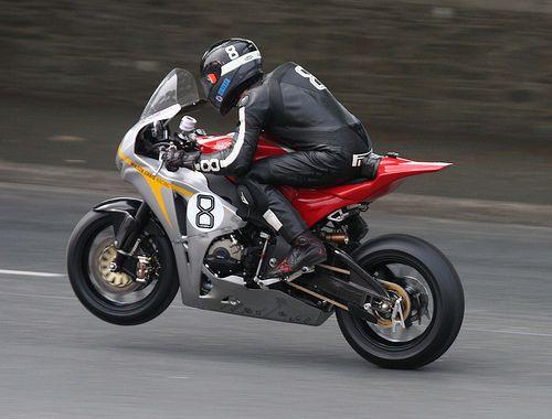 Guy Martin's Honda