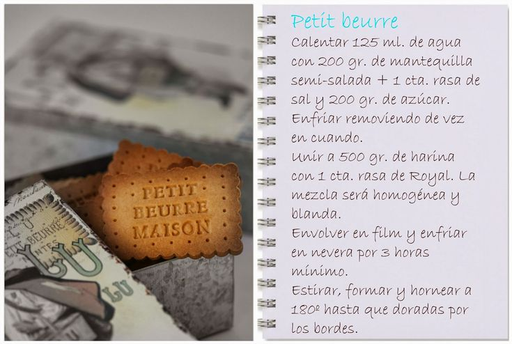 Hoy, un clásico de la repostería francesa: las Petit Beurre, unas galletas de mantequilla corrientes, a la venta en cualquier tiend...
