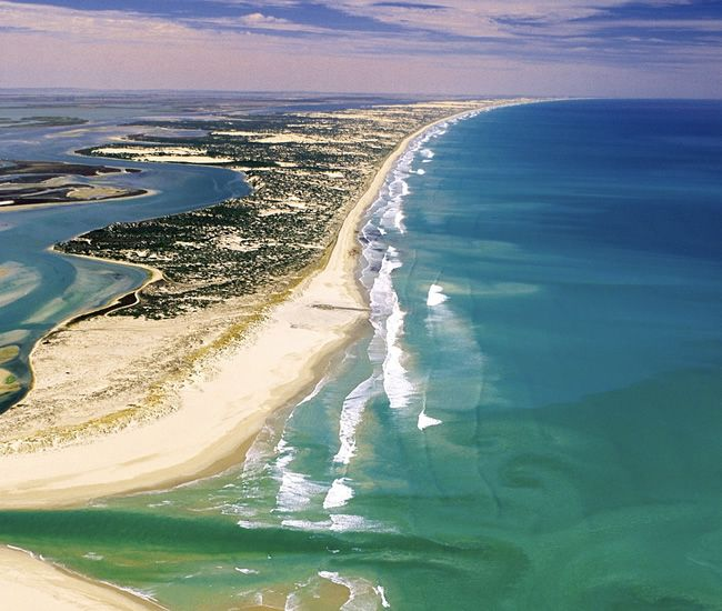 The Coorong on the South Australia coast