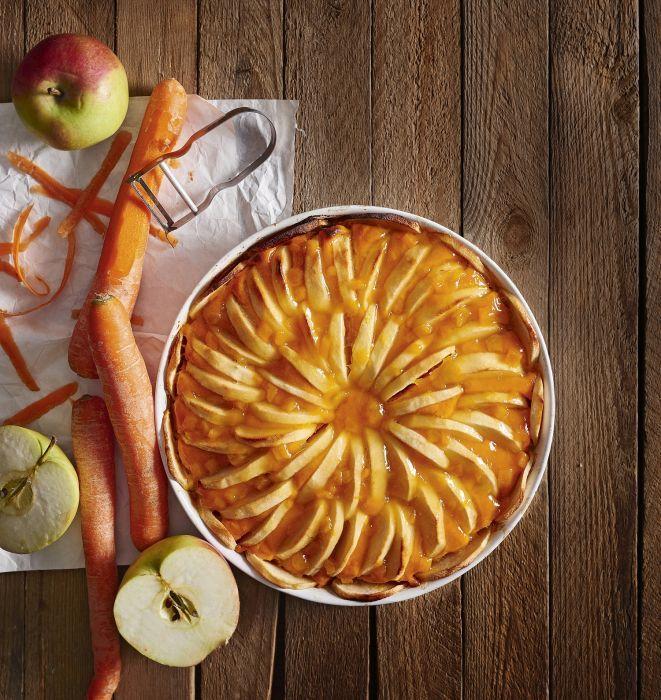Tarta marchewkowo-jabłkowa