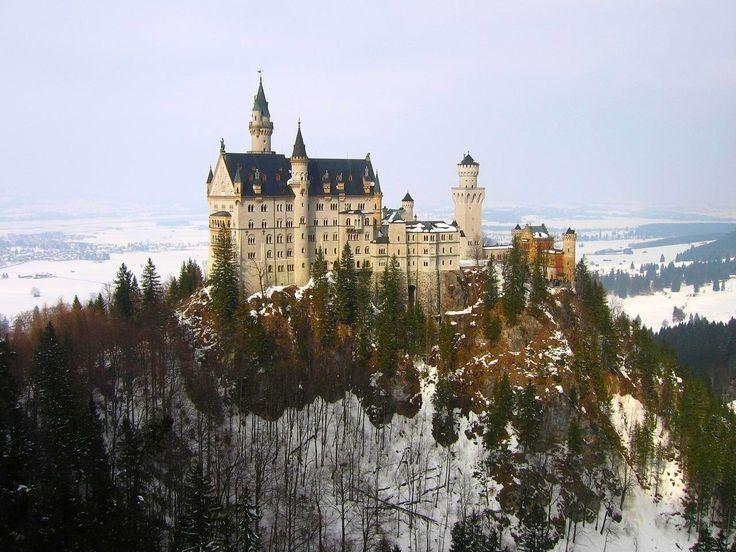 Neuschwanstein Castle in Bavaria, GermanyFavorite Places, Beautiful Castles, Beautiful Places, Disney Castles, Castles Bavaria, Neuschwanstein Castles, The Village, Travel, Bavaria Germany
