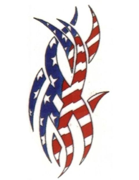 35 best american flag tribal tattoo stencils images on for Patriotic tribal tattoos
