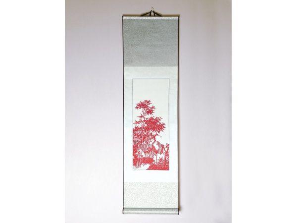 Chinese scroll paper cuts -  http://www.artchina.com.au/scroll