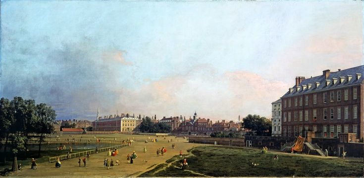 Canaletto – Tate Gallery L02305. London: The Old Horse Guards from St James's Park (c. 1749)