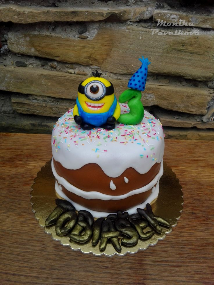 Minion CAKE. DORT mimoni.