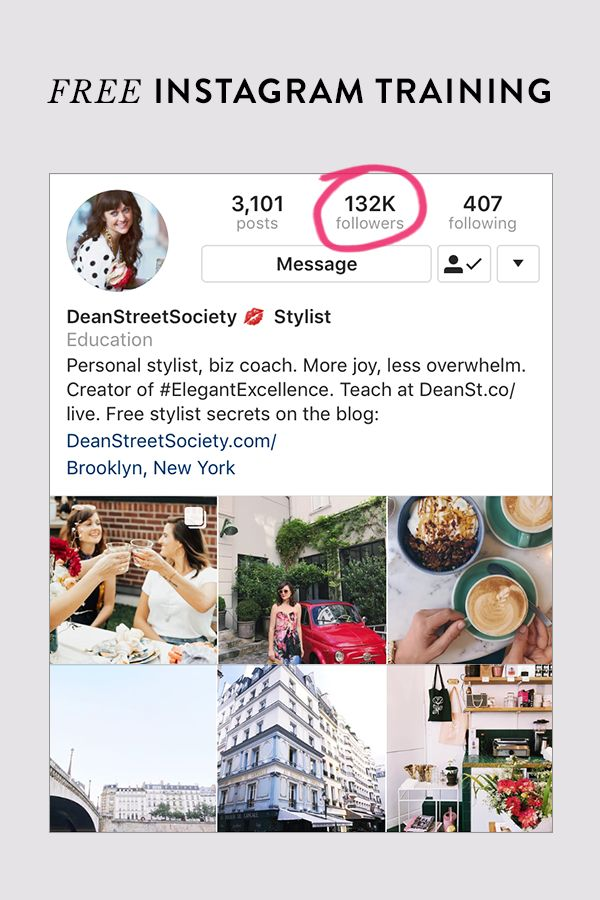 """After successfully growing my Instagram following to over 100K, and helping 5000+ entrepreneurs, creatives and dreamers grow their followings online, I'm opening up my Instagram training class again. """"Just got off Hilary's free Instagram class—thought I hated webinars, turns out I've just tuned in to a bunch of bad ones. Not only was it engaging, it was jam packed with applicable gold!"""" —Valerie Jeannis Click through to save your seat today!"""
