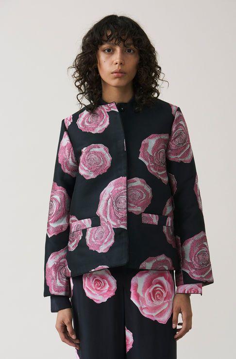 Turenne Jacquard Jacket, Black