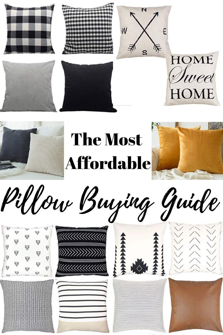 Affordable Pillow Buying Guide For Modern Farmhouse And Boho Pillows Affordable Pillow Boho Pillows Farmhouse Throw Pillow