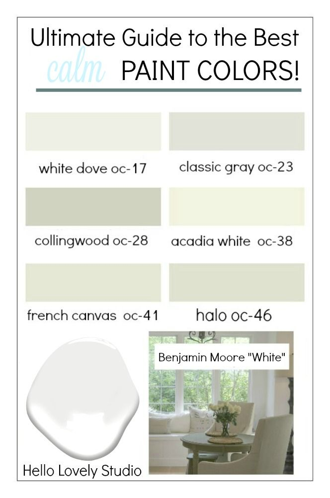 12 Best Calm Paint Colors Top Picks From Designers Hello
