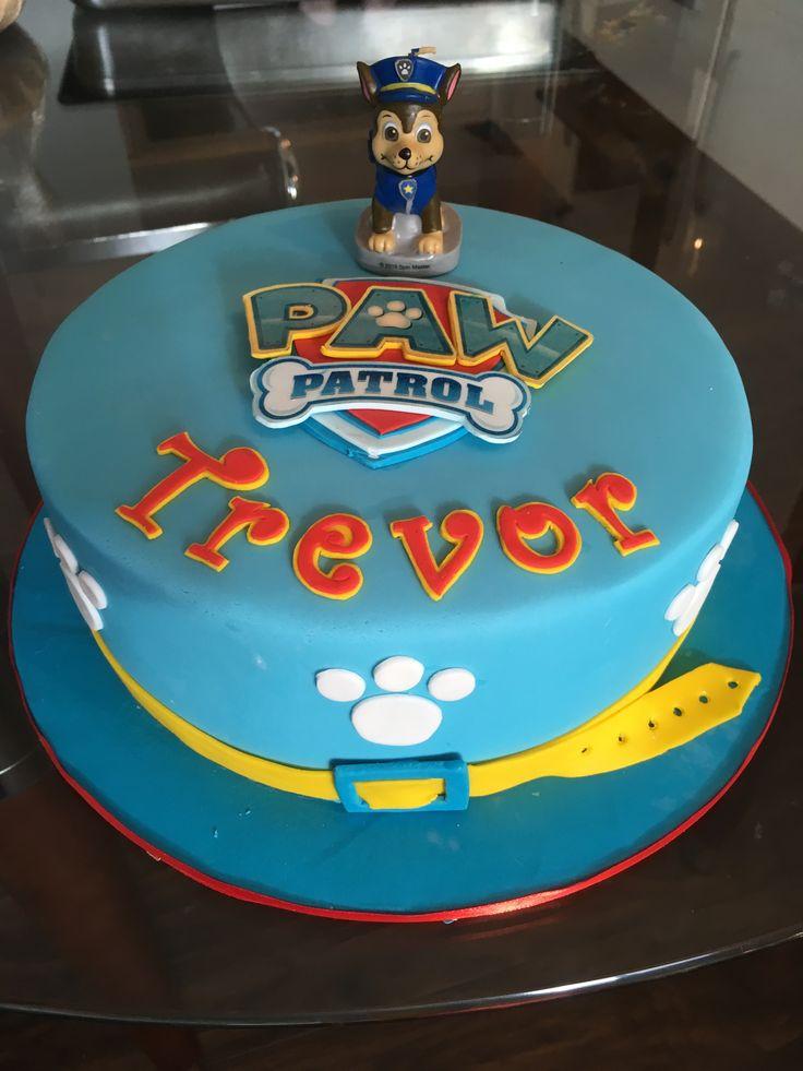 Paw Patrol cake.