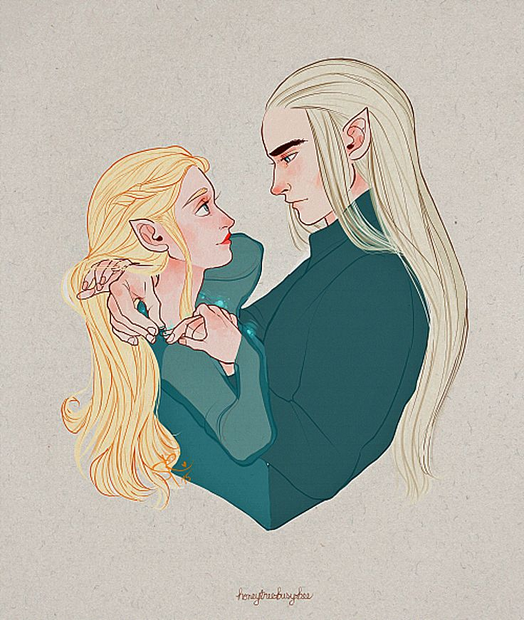 Thranduil and his wife