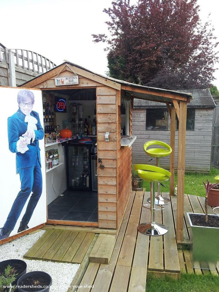 Shed Plans - Pub/Entertainment from Garden | #shedoftheyear - Now You Can Build ANY Shed In A Weekend Even If You've Zero Woodworking Experience!