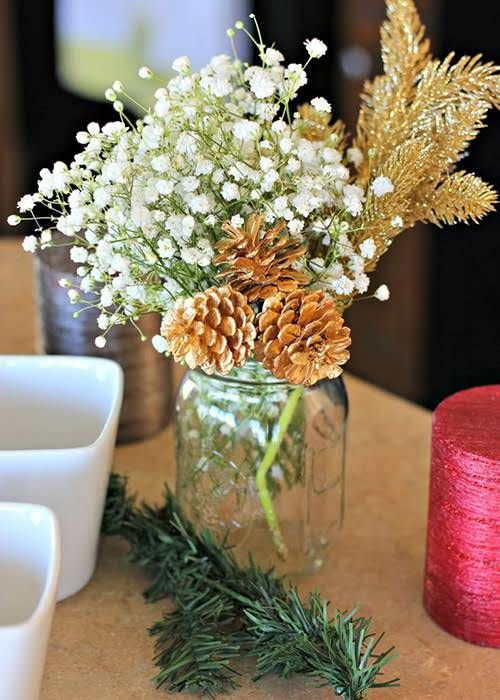 Winter Engagement Party Ideas Table Decorations