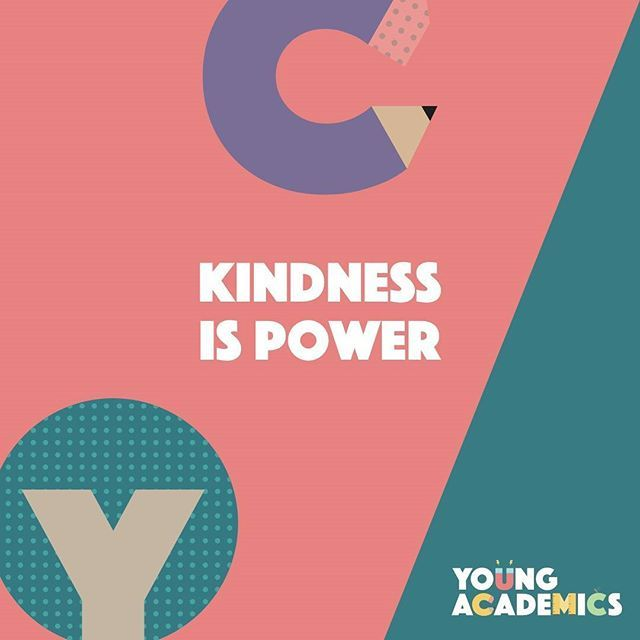 Kindness doesn't cost a thing. Leave it everywhere you go. #youngacademics #kidsquotes