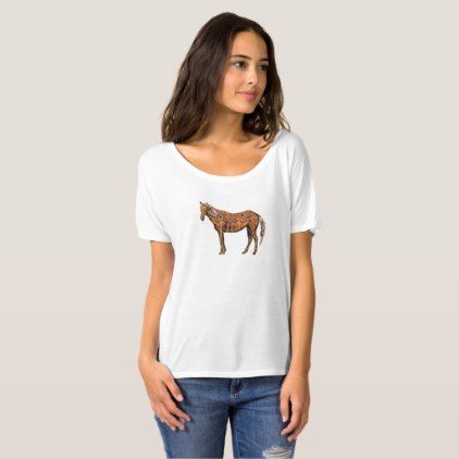 #women - #Aztec Horse T-Shirt