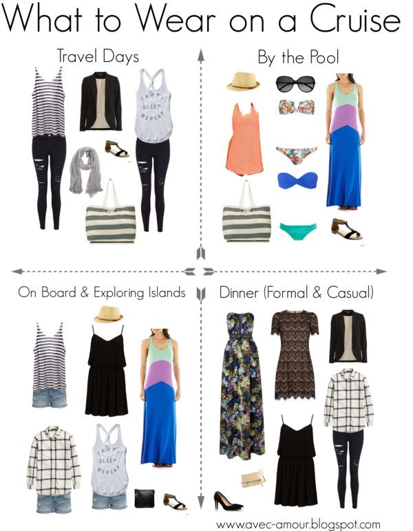 Online Cute Clothing For Cruising What to Wear on a Cruise