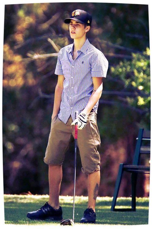 Nice hat, Justin [Bieber].