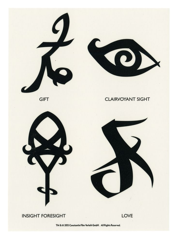 Runes temporary tattoos shadowhunter cosplay cosplay for Mortal instruments tattoo