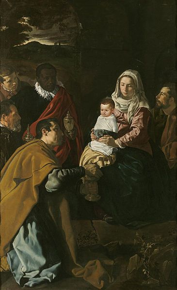 The Adoration of the Magi by Diego Velazquez Date: 1619