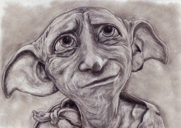 Dobby By Jumangeka Deviantart Com On Deviantart Story Harry Potter Pinterest Drawings