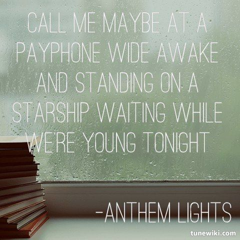 Anthem Quotes 133 Best Anthem Lights 3 Images On Pinterest  Anthem Lights .