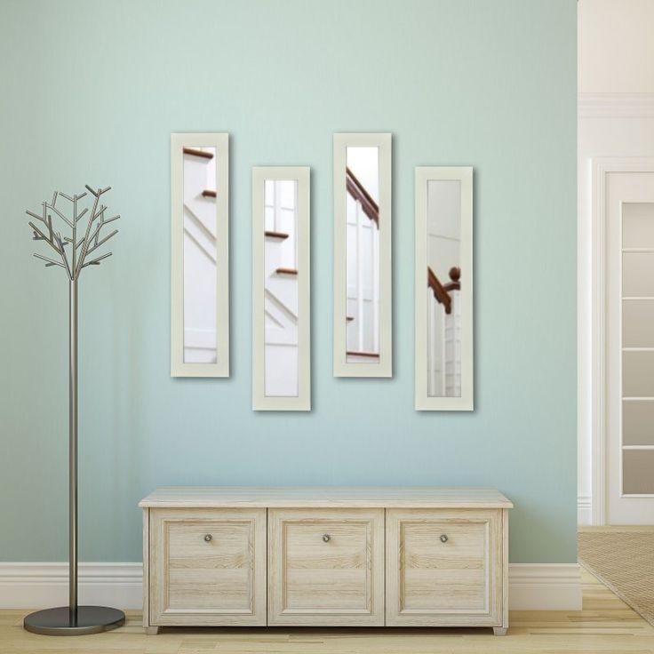 Rayne Mirrors Molly Dawn Glossy Polished White Wall Mirror - P21/10-24 S4