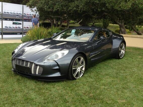 The beautiful Aston Martin One-77